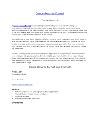 Cover Letter For Dance Teachers - Cover Letter Sample