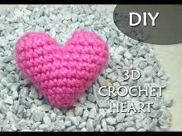 Heart Crochet Pattern Magnificent CROCHET PATTERN 48D Or PUFFY CROCHET HEART Patrones Valhalla ENG