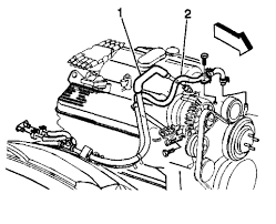 1999 gmc suburban diagram that shows heater hose assmbly 4x4 1500 graphic