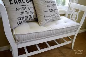 DIY Tufted French Mattress Cushion Ballard Catalog Knockoff}