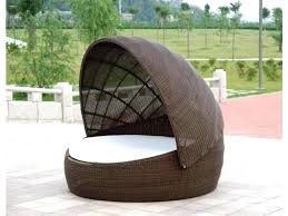 outdoor daybed with canopy patio wicker day beds for rattan effect and cushions c furniture ideas patio daybed
