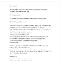 Awesome Collection of Sample Resume For Tutoring Position About Letter  Template