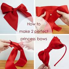 How to make 2 perfect princess bows