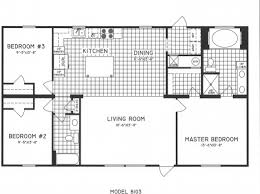 Related: Best House Plans For 3 Bedrooms Cool 3 Bedroom House Floor Plan  Home Three Bedroom Flat Plan Image