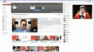 The Back End Of The New Youtube Channel Design
