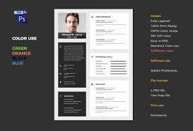Job Cv Resume Templates Creative Market