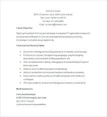 junior java developer resume gse bookbinder co . objective ...