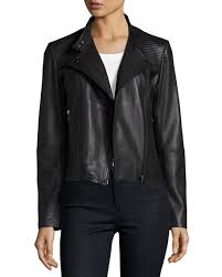 Neiman Marcus Quilted Leather Moto Jacket & Quilted Leather Moto Jacket Adamdwight.com