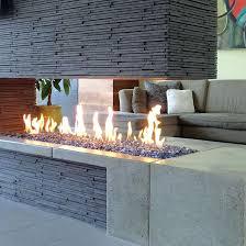 linear outdoor fireplace outdoor linear fireplace ideas