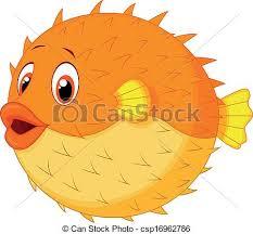 cute puffer fish clip art. Contemporary Fish Cute Puffer Fish Cartoon  Csp16962786 To Puffer Fish Clip Art U