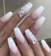 Light Pink And White Nail Designs Pin By Ana On Nails In 2019 Mauve Nails White Nail