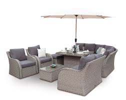 whitewash outdoor furniture. grand sofa corner dining garden furniture set whitewash outdoor e