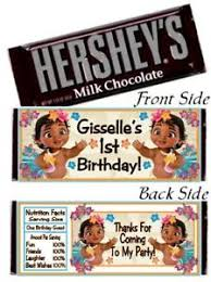 hershey candy bar wrapper 12 baby moana birthday party or shower hershey candy bar wrapper