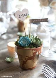 succulents for wedding favors wedding paper succulents paper succulent  wedding decor paper succulent table setting wedding