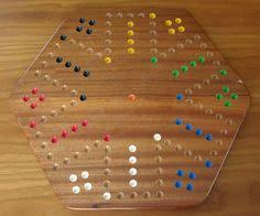 Wooden Aggravation Game How to Build an Aggravation Game Board thumbnail aggravation 34