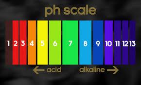 Ph Scale Color Chart Ph Scale Color Chart No Magic Formula
