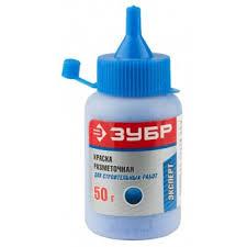 <b>Краска ЗУБР разметочная</b> для строительных работ, синяя, 50г 4 ...