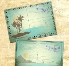 Vintage Postcards Templates Vintage Postcards Templates Thewaitinggame