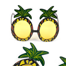 pineapple with sunglasses clipart. aliexpress.com : buy fengrise hawaii beach flamingo pineapple sunglasses goggles bachelorette hen night stag party favors carnival decoration from with clipart t