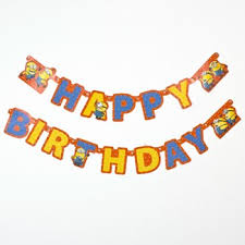 Banner Birthday Banners Bunting