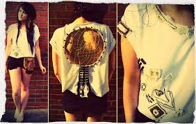 Dream Catcher Shirt Diy Classy Rachael Dobbins ♡ Rachael Dobbins Designs Dream Catcher Tee