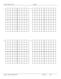 Free Printable Coordinate Plane Graph Paper Graphing X Y Coordinates