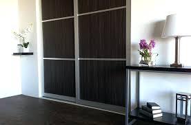 modern wood sliding closet doors solid wardrobe