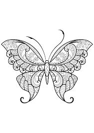 Disegni Farfalle Colorate
