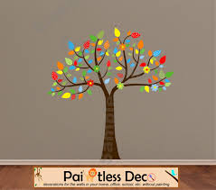 reusable animal pals tree only wall decal