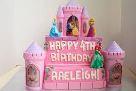 Princess Castle Birthday Cake The Baking Fairy