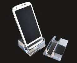Acrylic Cell Phone Display Stands Cool Cell Phone Acrylic Display Holder