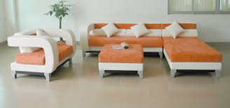 Orange Living Room Furniture Living Room Elegant White Sectional Leather Living Room Couches