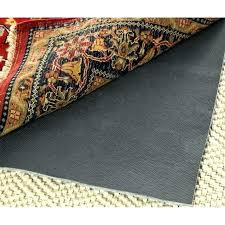 non slip rug pad home depot skid medium size of carpet under no underlay thick anti cybergold anti slip rug