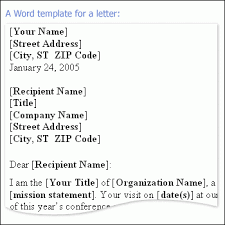 Microsoft Business Letter Templates Business Letter Word Template Under Fontanacountryinn Com