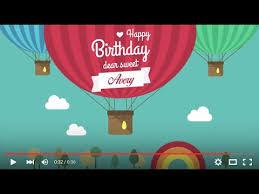 Happy Birthday Avery Happy Birthday Avery Full Hd 1080p Youtube