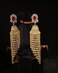 Design Of Ear Ring Latest Design American Diamond Jhumka Earring Buy New Designs Gold Jhumka Earring New Designs Gold Jhumka Earring New Designs Gold Jhumka Earring