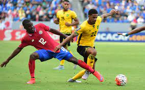 World Cup Qualifying with Jamaica tie