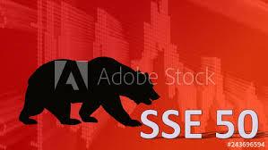 Shanghai Stock Market Index Chart The China Stock Market Index Sse 50 Of Shanghai Stock