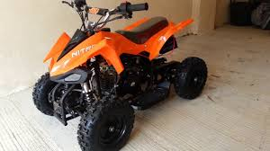50cc 4 stroke mini quad atv off road quad youtube