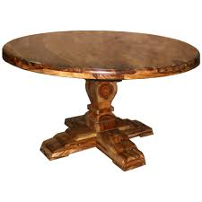 solid wood round dining table with leaf room good looking diversity in tables home dining room