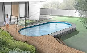 a semiinground pool is an above ground that can sit entirely ground sink halfway or be submerged while the a literal partial n6