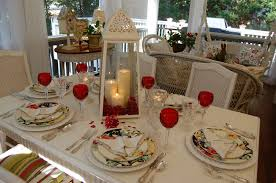 Candle Light Dinner Table Setting Romantic Candlelight Table Setting Between Naps On The Porch