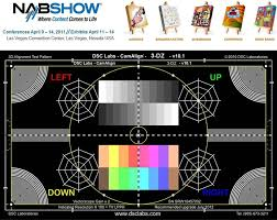 New 3d Camera Test Chart From Dsc Labs Live Production Tv
