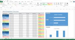 Work Breakdown Structure Excel Template At Work Breakdown Structure ...