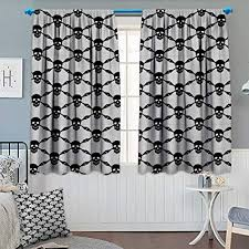 Chaneyhouse Gothic <b>Patterned</b> Drape Glass Door <b>Halloween</b> ...