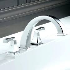 deck mount bathtub faucet wall waterfall tub sophisticated