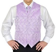Light Purple Tuxedo Vest Overstocktoyz