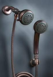 hand held shower heads oil rubbed bronze handheld shower heads