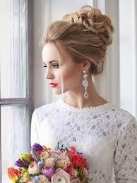 лучших вариантов свадебной прически мода   deerpearlflowers com svadebnaja prichyoska s puchkom 2