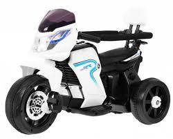 <b>Детский велосипед</b> / электромотоцикл <b>Feilong</b> 6V - HL-108-WHITE